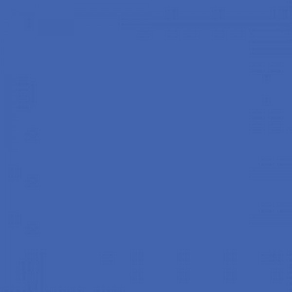 BD Foto Blue (Chroma Key Blue) Heaven 2,75x11 Papier-Hintergrund