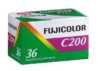 FUJI Fujicolor C 200 135/36 Kleinbild-Negativfilm