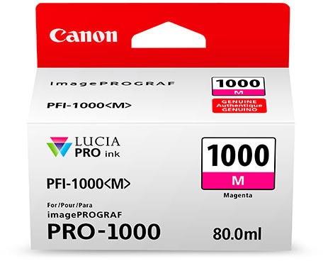 CANON PFI-1000 M Tinte, magenta 80ml