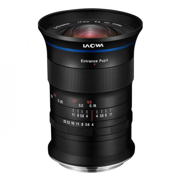 LAOWA 17mm f/4 Zero-D für Fuji GFX