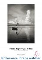 "Hahnemühle Photo Rag Bright White 310g/m² 12m Rollenpapier (3"" Kern)"