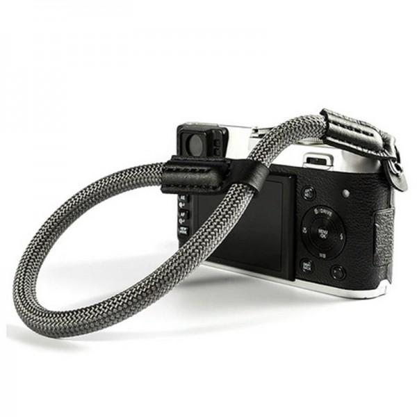 LASSO Kamera-Handschlaufe, geflochten, GRAU