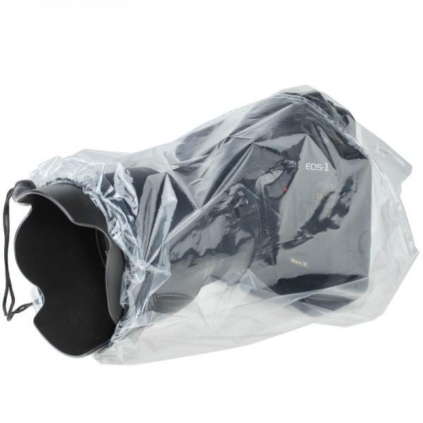 JJC Regenschutz transparent für Systemkameras, Doppelpack