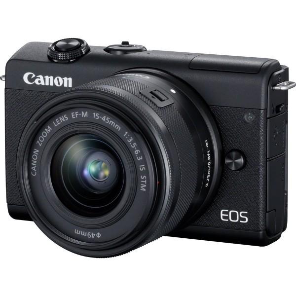 Canon EOS M200 & EF-M 15-45mm/3,5-6,3 IS STM schwarz SET