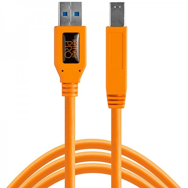 Tether Tools Pro USB 3.0 Typ A an USB 3.0 Typ B - 4,6 Meter Kabel