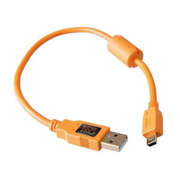 Tether Tools Pro USB 2.0 an USB 2.0 Mini-B (5-Pin) - 30 cm Kabel