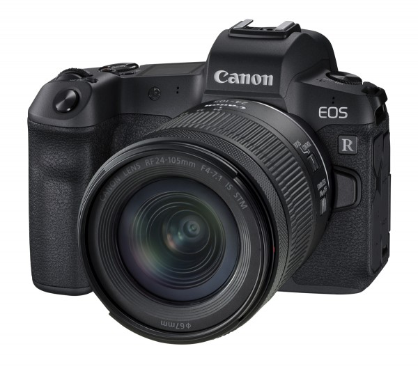 Canon EOS R & RF 24-105mm/4,0-7,1 IS STM