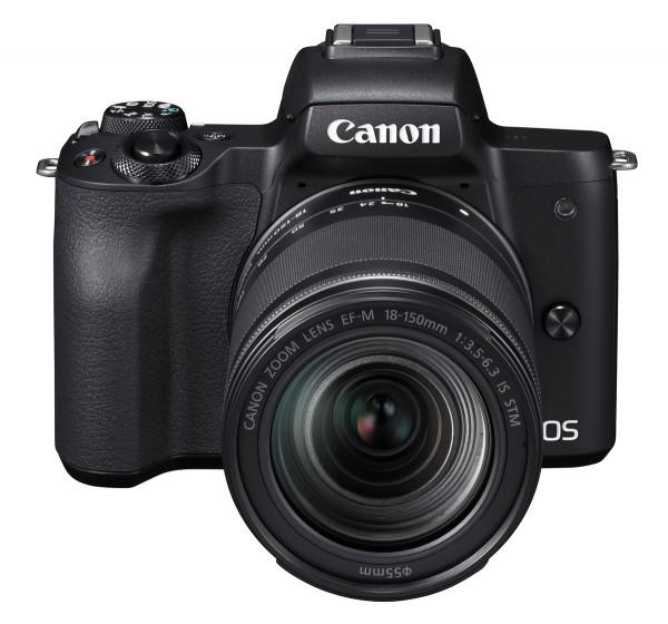 Canon EOS M50 & EF-M 18-150mm/3,5-6,3 IS STM Kamerakit, schwarz