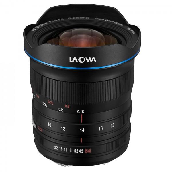 LAOWA 10-18mm f/4,5-5,6 FE Zoom für Sony E