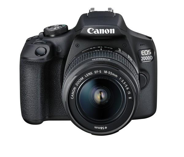 Canon EOS 2000D + EF-S 3,5-5,6/18-55 mm IS II Kit