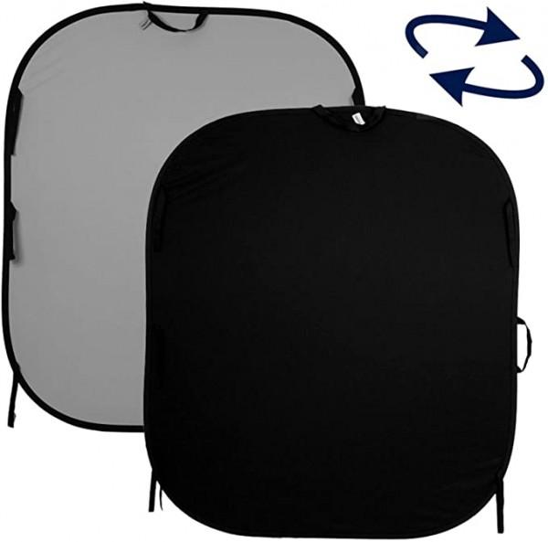 Lastolite Falthintergrund schwarz/grau 150x180cm (LL LB56GB)