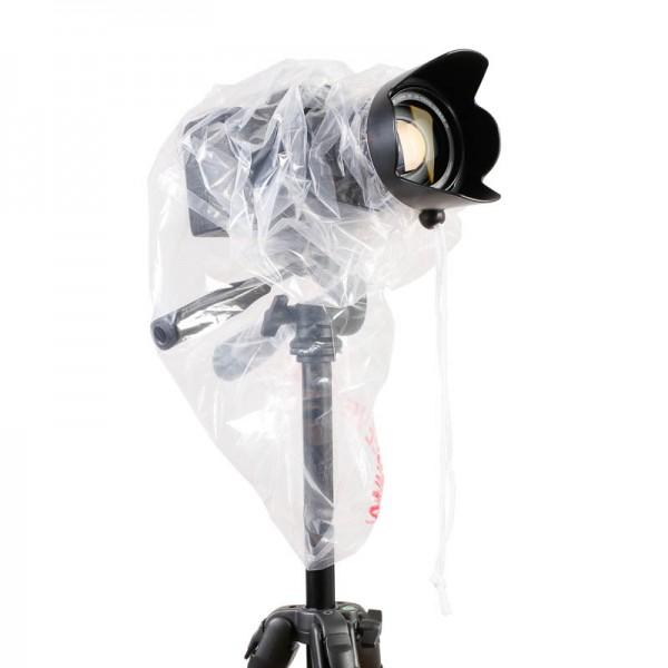 Op/Tech Regenschutz transparent für DSLR-Kameras, Doppelpack