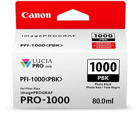 CANON PFI-1000 PBK Tinte, photo balck 80ml
