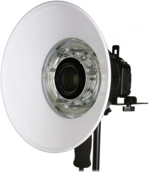 BOWENS BW-7674 130 Grad Weißer Ringblitz-Reflektor