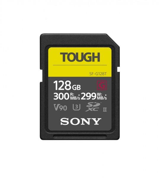 Sony 128 GB SDXC UHS-II R300 TOUGH Class10