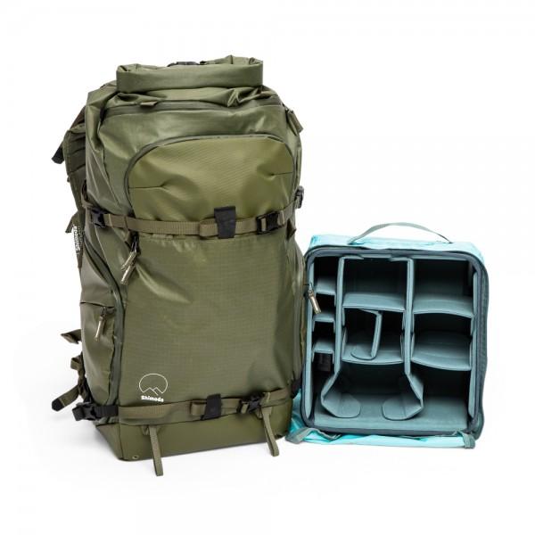 Shimoda Action X50 Starter Kit (inkl. Medium DSLR Core Unit) - Armeegrün