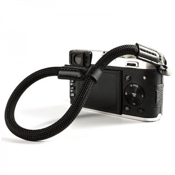 LASSO Kamera-Handschlaufe, geflochten, SCHWARZ