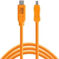 Tether Tools Pro USB-C an USB 2.0 Mini-B8 - 4,6 Meter Kabel