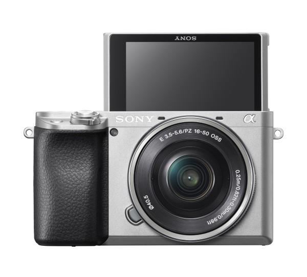 Sony Alpha 6100 + 16-50mm OSS silber Kit