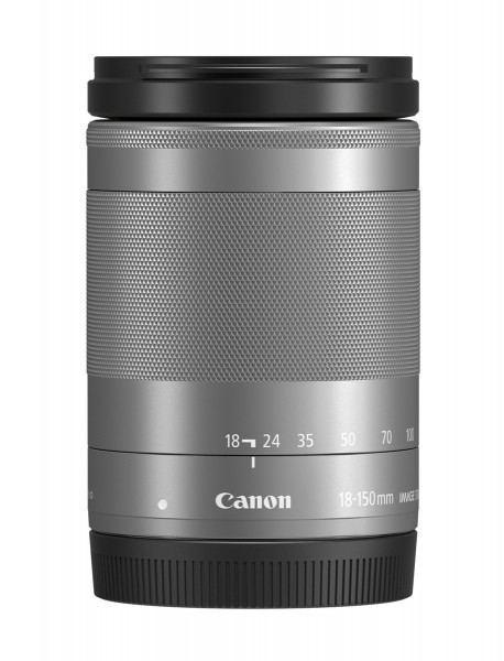 Canon EF-M 18-150mm/3,5-6,3 IS STM silber