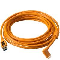 Tether Tools Pro USB 3.0 an USB 3.0 Micro-B - 4,6 Meter Kabel, rechtsgewinkelt
