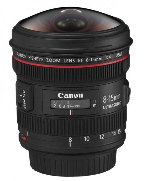 Canon EF 8-15mm/4,0 L USM Fisheye