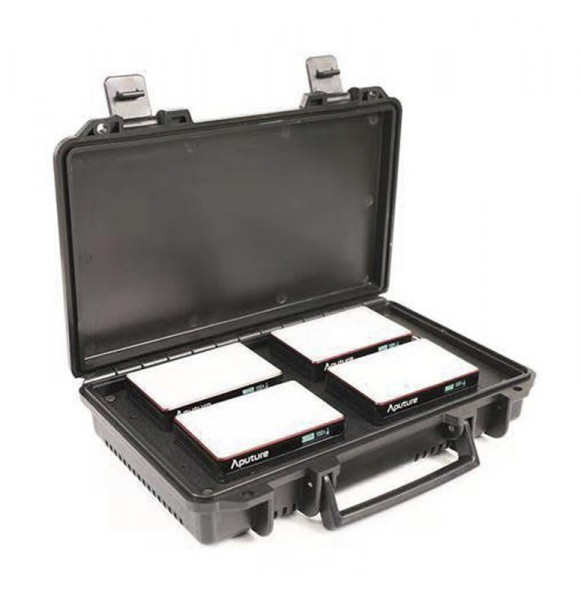 Aputure AL-MC 4-Light Travel Kit LED Leuchte im Kit
