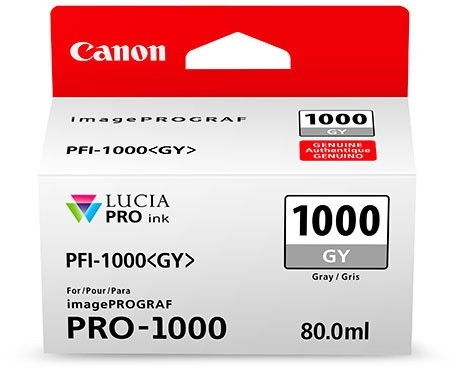 CANON PFI-1000 GY Tinte, grey 80ml