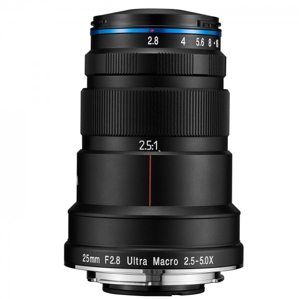 LAOWA 25mm f/2,8 Ultra Macro 2,5-5X für Canon EF