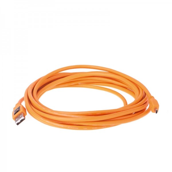 Tether Tools Pro USB 2.0 an USB 2.0 Mini-B 8pin - 4,6 Meter Kabel