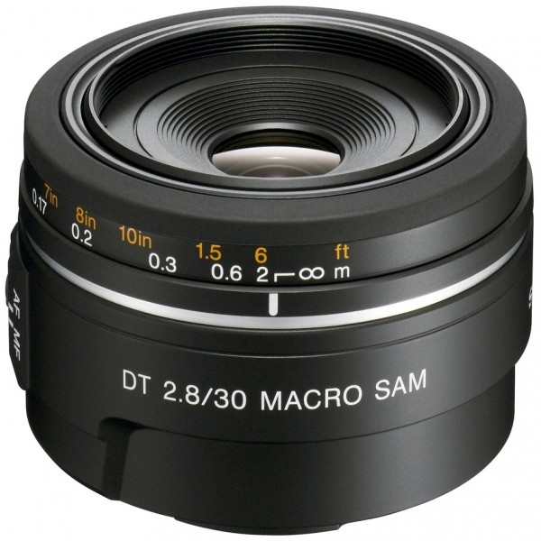 Sony SAL 30 mm / 2,8 DT SAM Makro