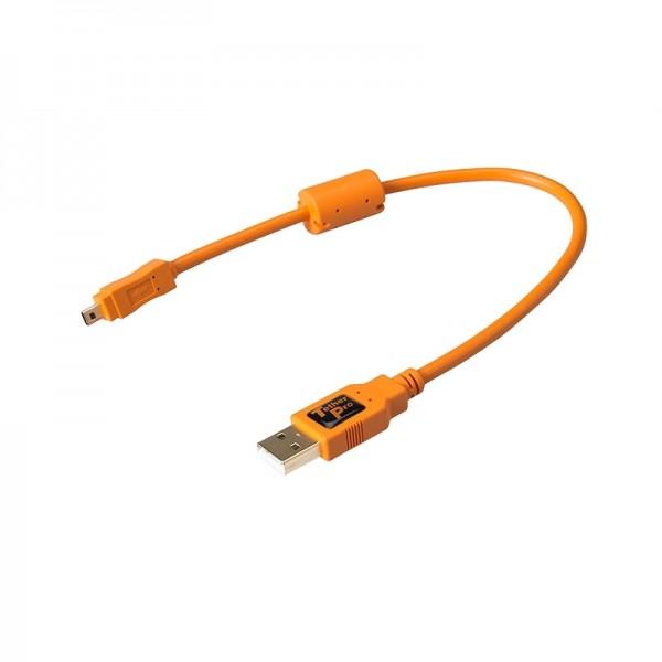 Tether Tools Pro USB 2.0 an USB 2.0 Mini-B (8-Pin) - 30 cm Kabel