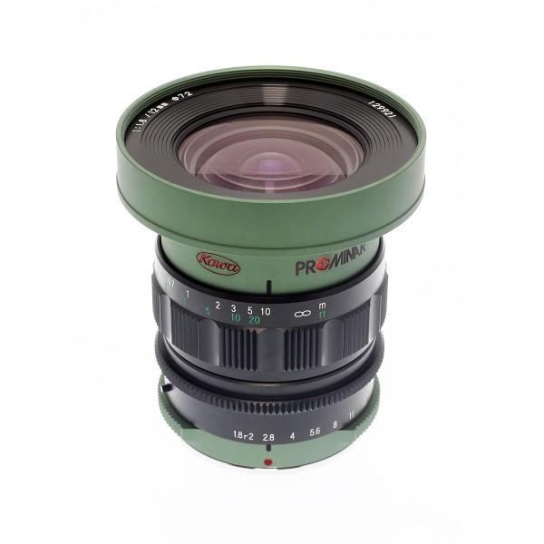 KOWA Prominar MFT 12mm f1.8 - grün