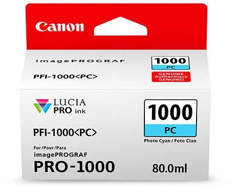 CANON PFI-1000 PC Tinte, photo cyan 80ml