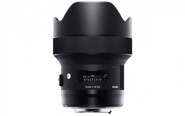 Sigma ART 14mm F1,8 DG HSM / Sony E-Mount
