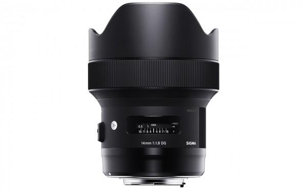 Sigma ART 14mm F1,8 DG HSM / Nikon F