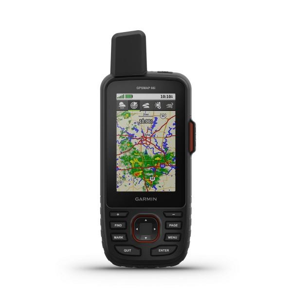 Garmin GPSMAP 66I TOPOACTIVE EUROPE Schwarz/Rot