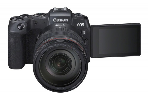Canon EOS RP & RF 24-105mm/4 L IS USM & Adapter EF-EOS