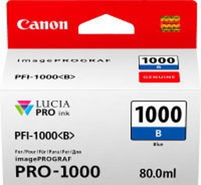 CANON PFI-1000 B Tinte, blue 80ml