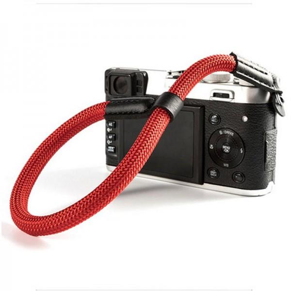 LASSO Kamera-Handschlaufe, geflochten, ROT