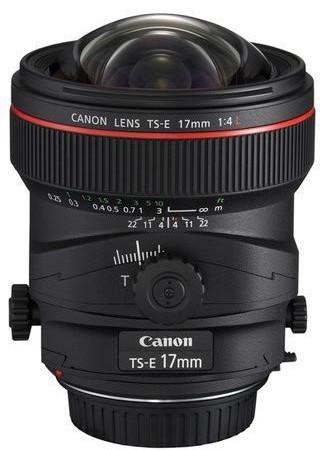 Canon TS-E 17mm/4,0 L