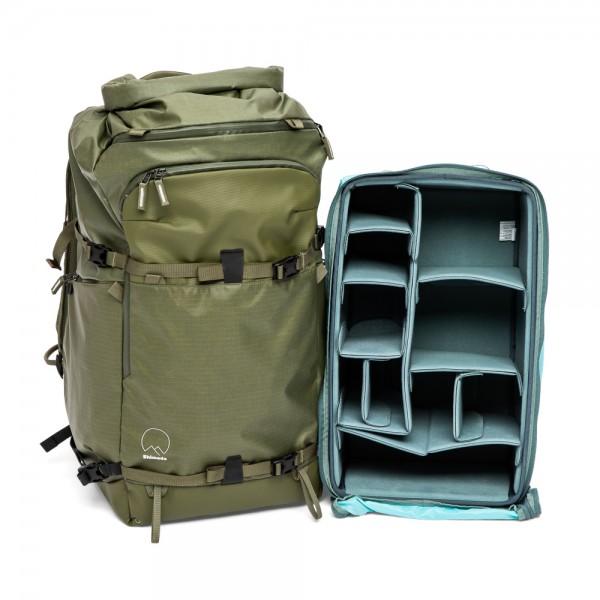 Shimoda Action X70 Starter Kit (inkl. XL DV Core Unit) - Armeegrün
