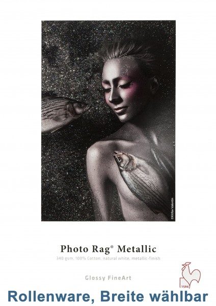 Hahnemühle Photo Rag Metallic 340g/m² 12m-Rolle