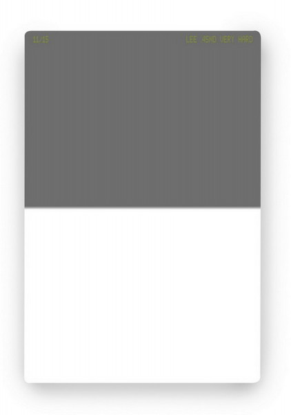 LEE ND 0.45 Grau-Verlaufsfilter VERY HARD (+1,5 Blenden)
