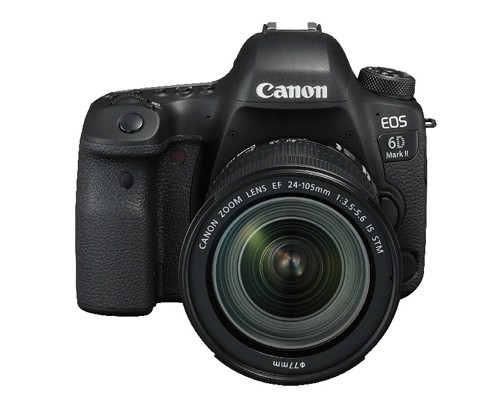 Canon EOS 6D MK II + EF 24-105mm/3,5-5,6 IS STM Kamera-Kit