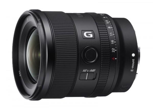 Sony SEL 20 mm / 1.8 G