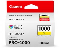 CANON PFI-1000 Y Tinte, yellow 80ml