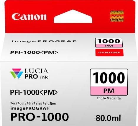CANON PFI-1000 PM Tinte, photo magenta 80ml