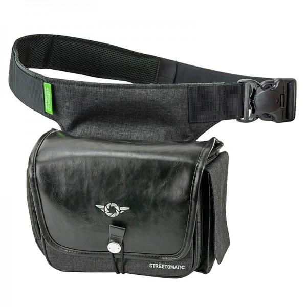 COSYSPEED Streetomatic Fernglastasche mit Hüftgürtel, schwarz