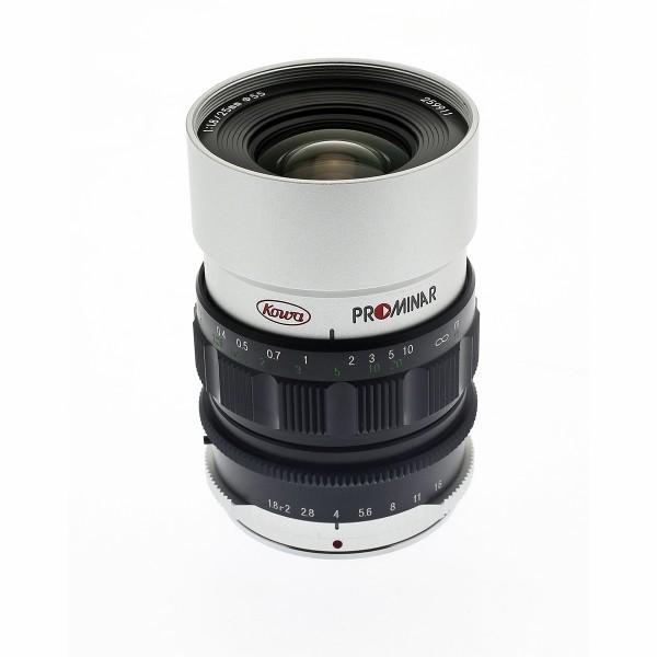 KOWA Prominar MFT 25mm f1.8 - silber